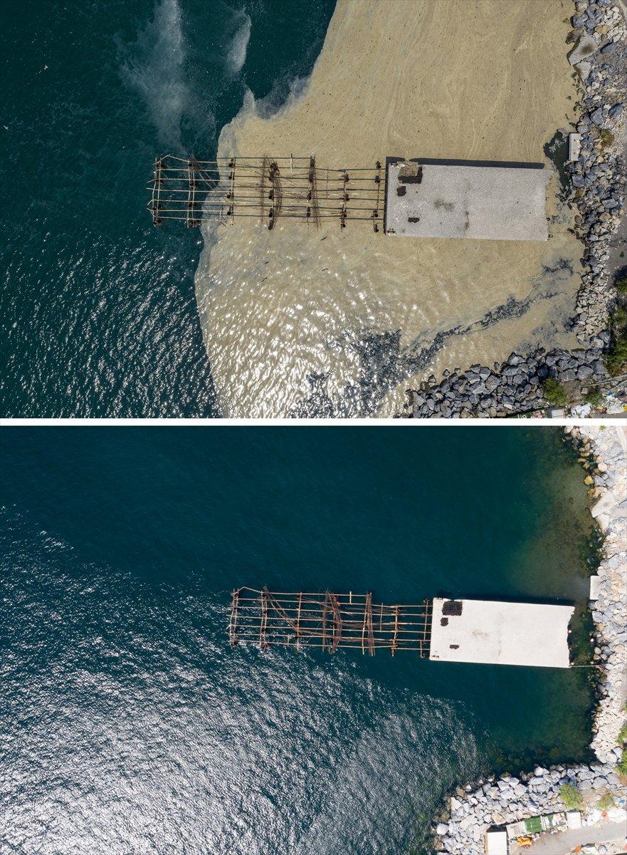 İstanbul sahilleri müsilajdan arındırıldı #9