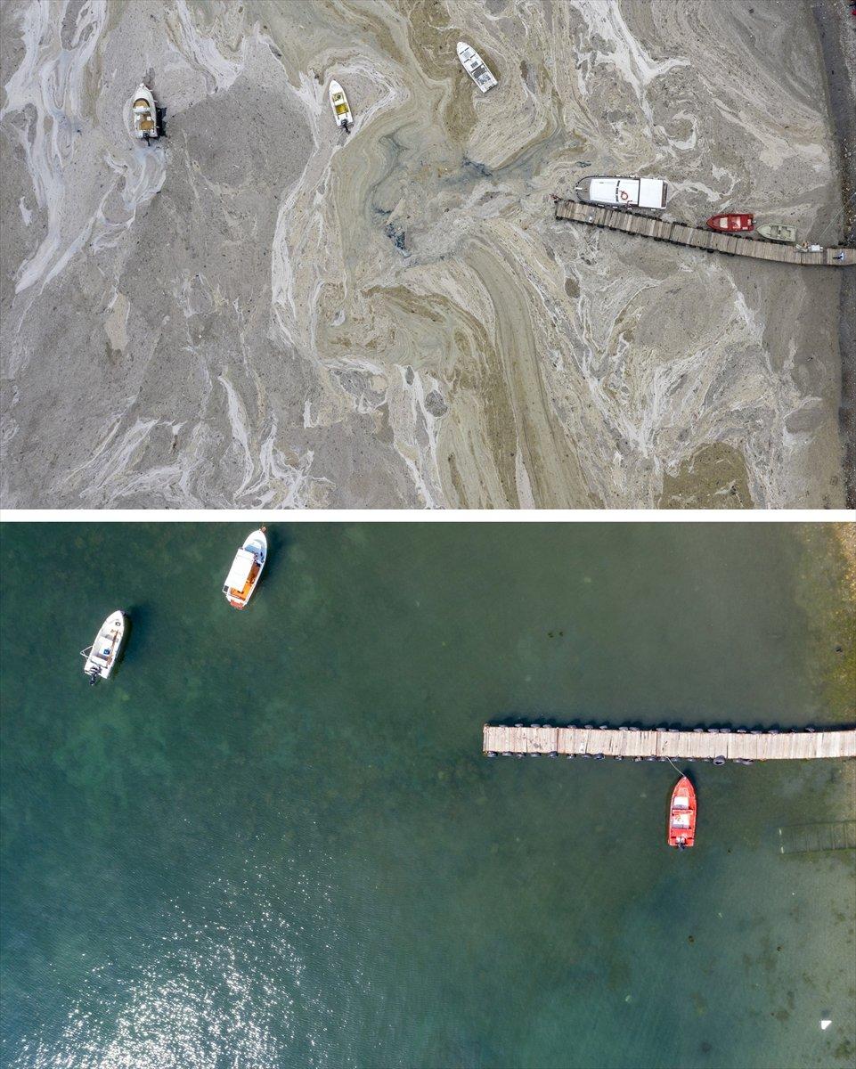 İstanbul sahilleri müsilajdan arındırıldı #3