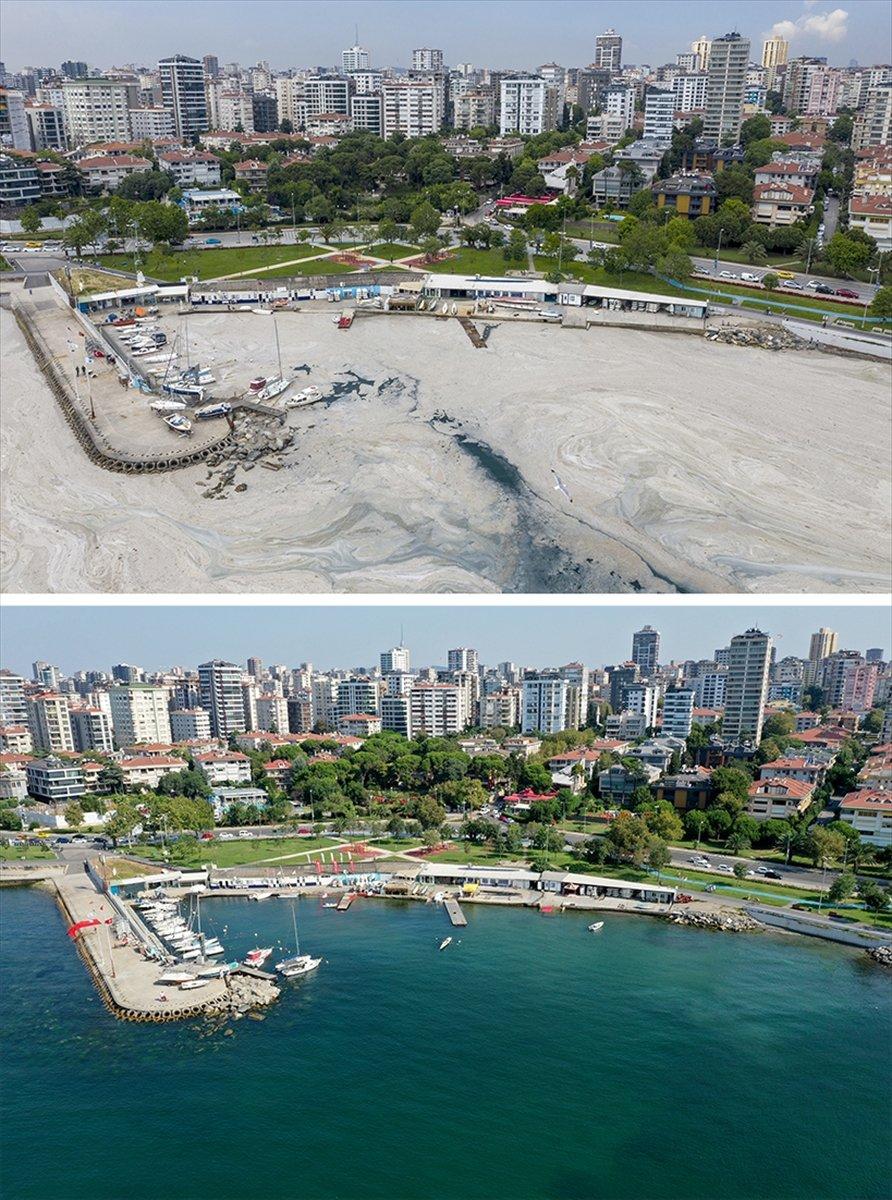 İstanbul sahilleri müsilajdan arındırıldı #7