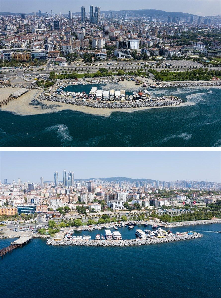 İstanbul sahilleri müsilajdan arındırıldı #11