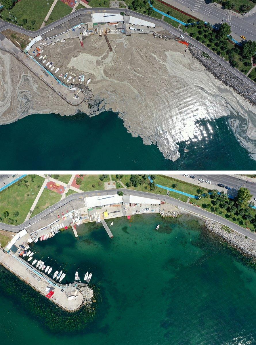 İstanbul sahilleri müsilajdan arındırıldı #15
