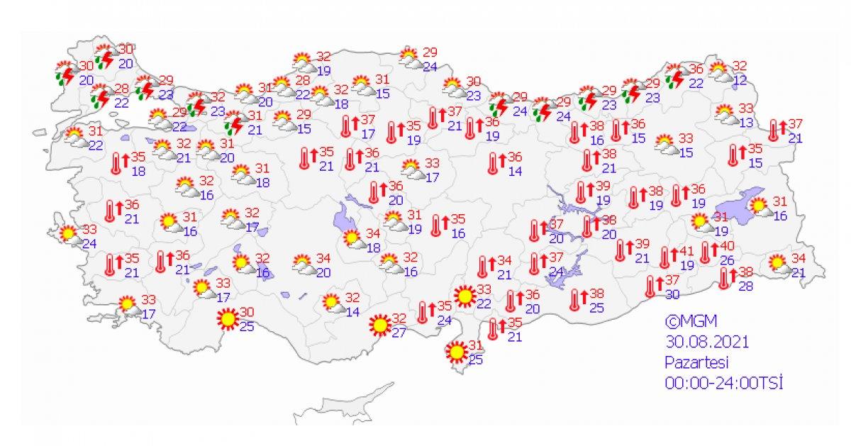 Marmara ve Karadeniz için kuvvetli yağış uyarısı #2
