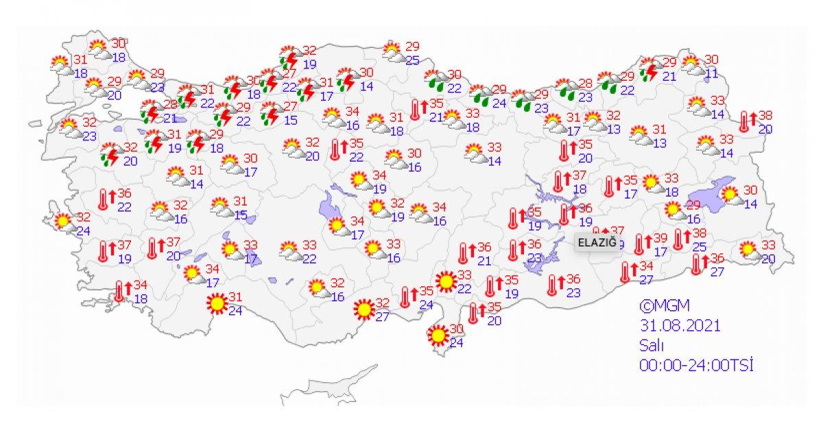 Marmara ve Karadeniz için kuvvetli yağış uyarısı #3
