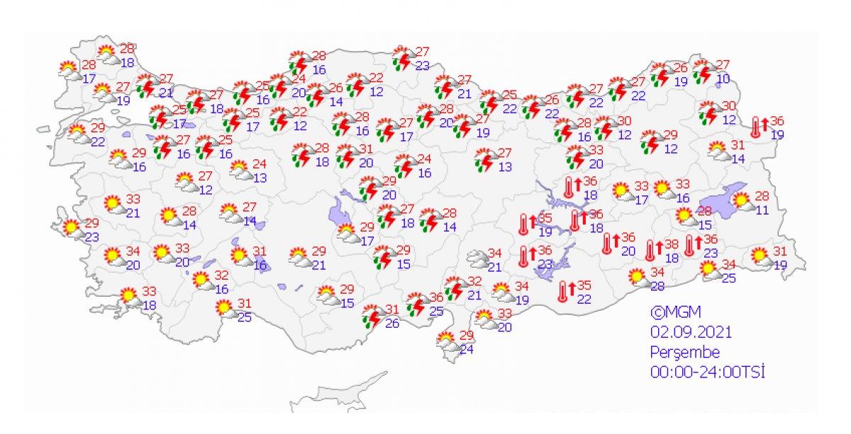 Marmara ve Karadeniz için kuvvetli yağış uyarısı #5
