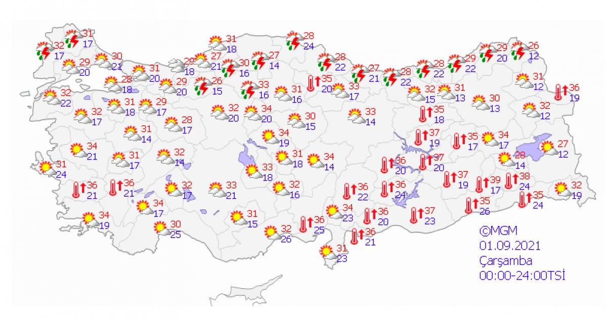 Marmara ve Karadeniz için kuvvetli yağış uyarısı #4