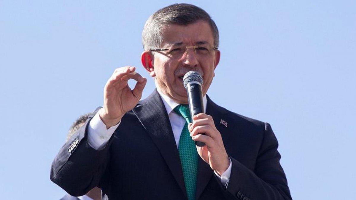 Ahmet Davutoğlu, anketlere inanmadığını söyledi #2