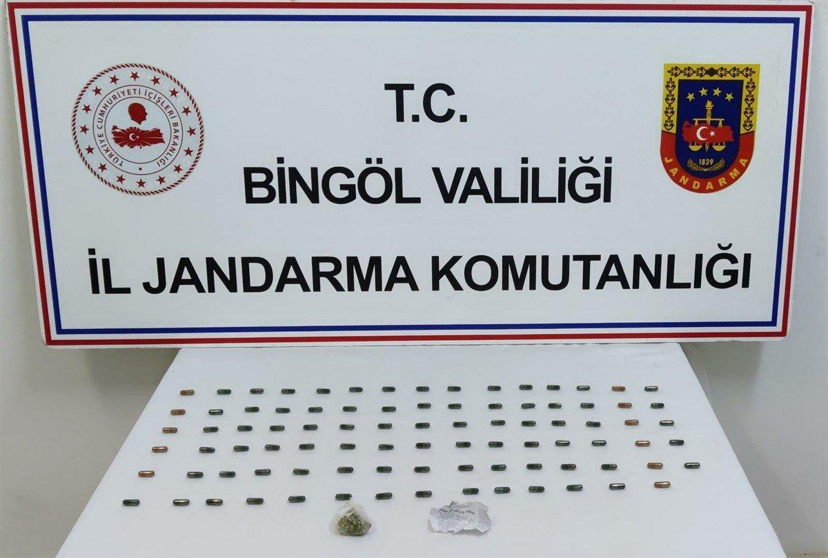 Bingöl'de 500 bin TL değerinde uyuşturucu yakalandı #2