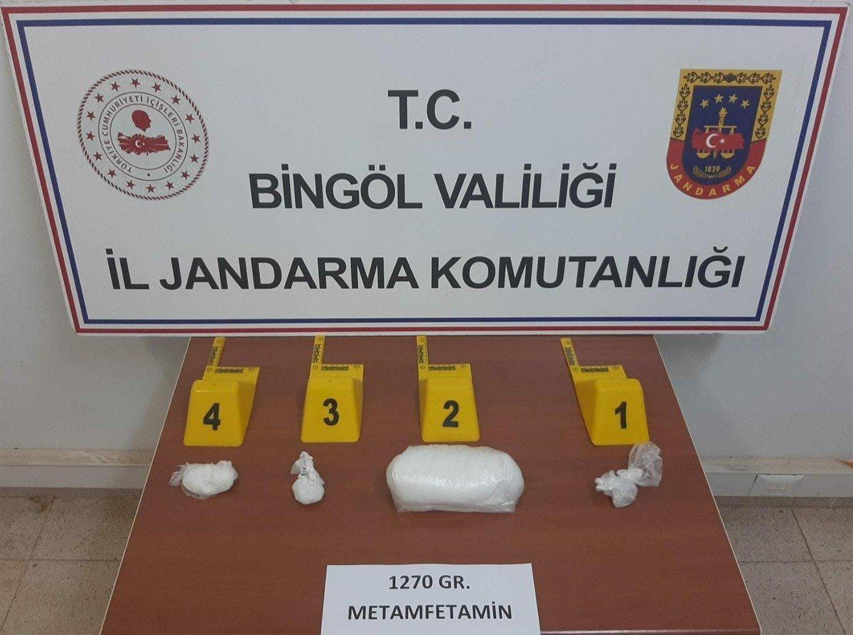Bingöl'de 500 bin TL değerinde uyuşturucu yakalandı #1