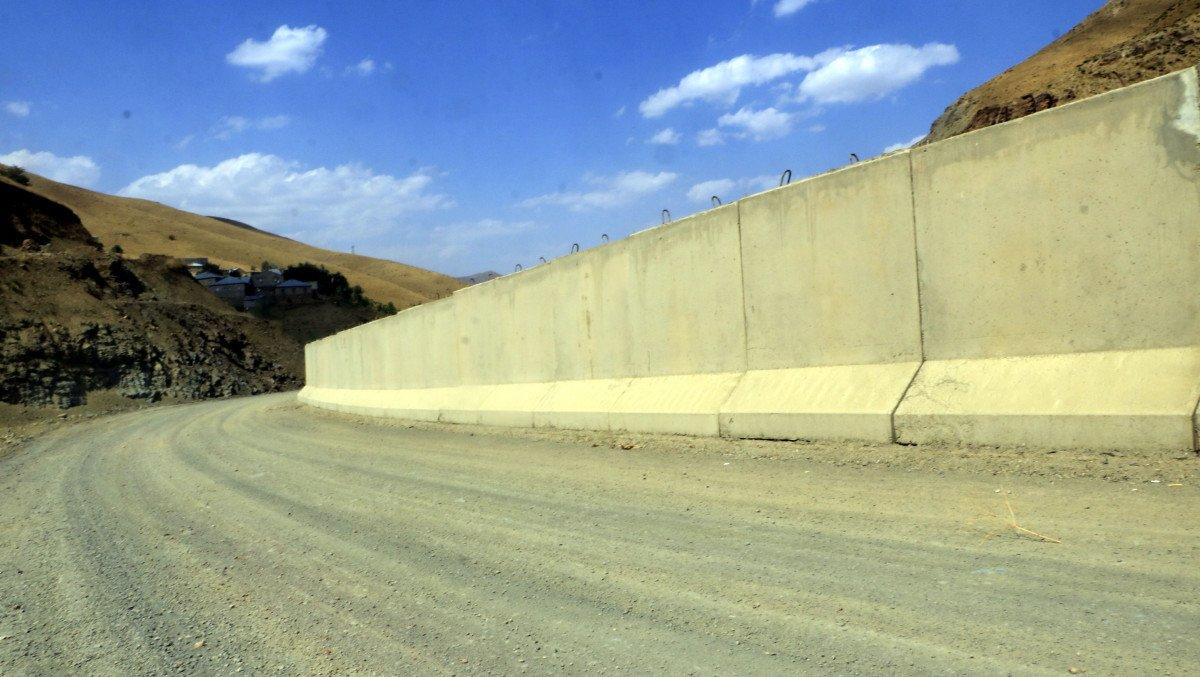 Van sınırında, 43 kilometrelik duvar inşa edildi #3