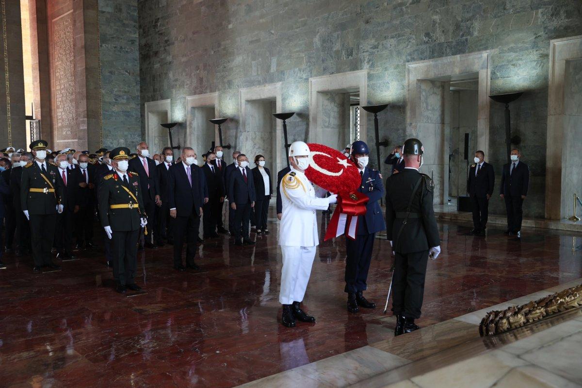Cumhurbaşkanı Erdoğan ve devlet erkanı Anıtkabir de  #2