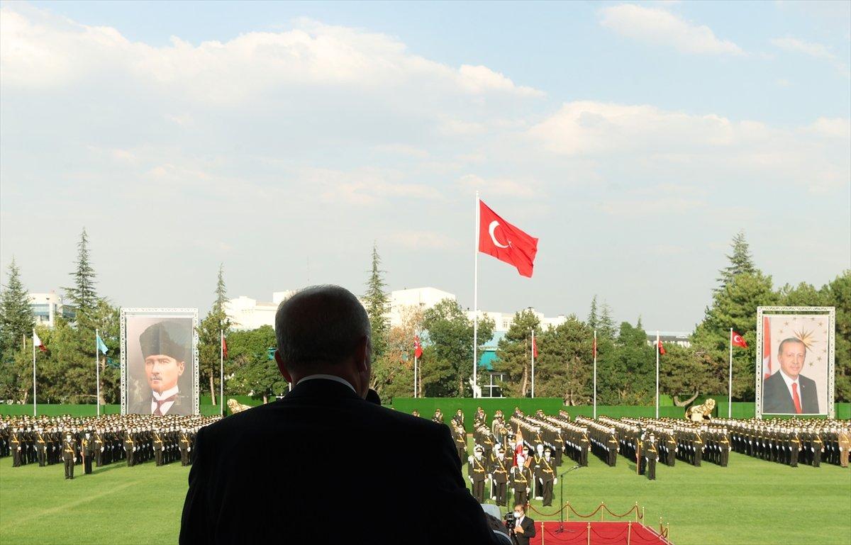 Cumhurbaşkanı Erdoğan ın Kara Harp Okulu Diploma Töreni konuşması #5