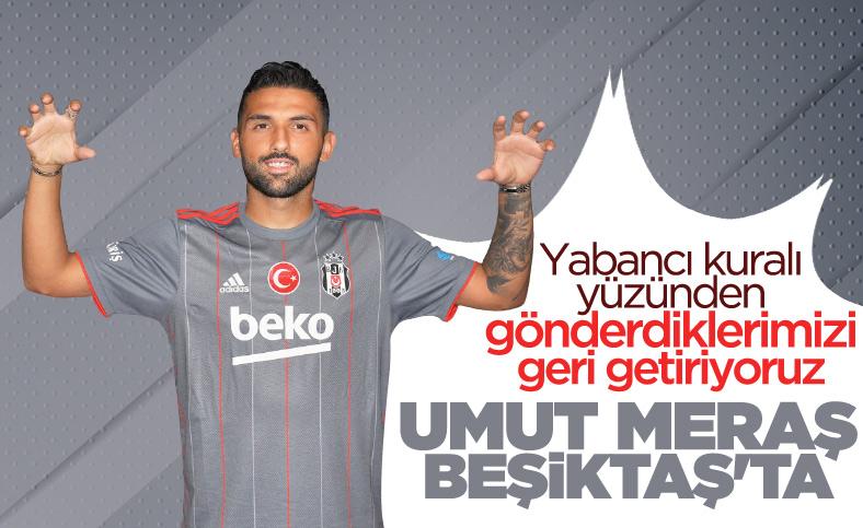 Beşiktaş, Umut Meraş transferini KAP'a bildirdi