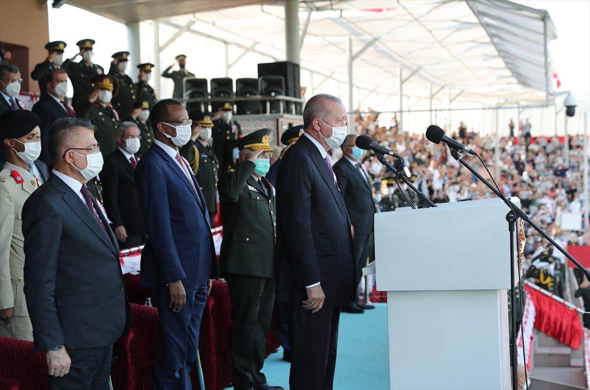Cumhurbaşkanı Erdoğan ın Kara Harp Okulu Diploma Töreni konuşması #4