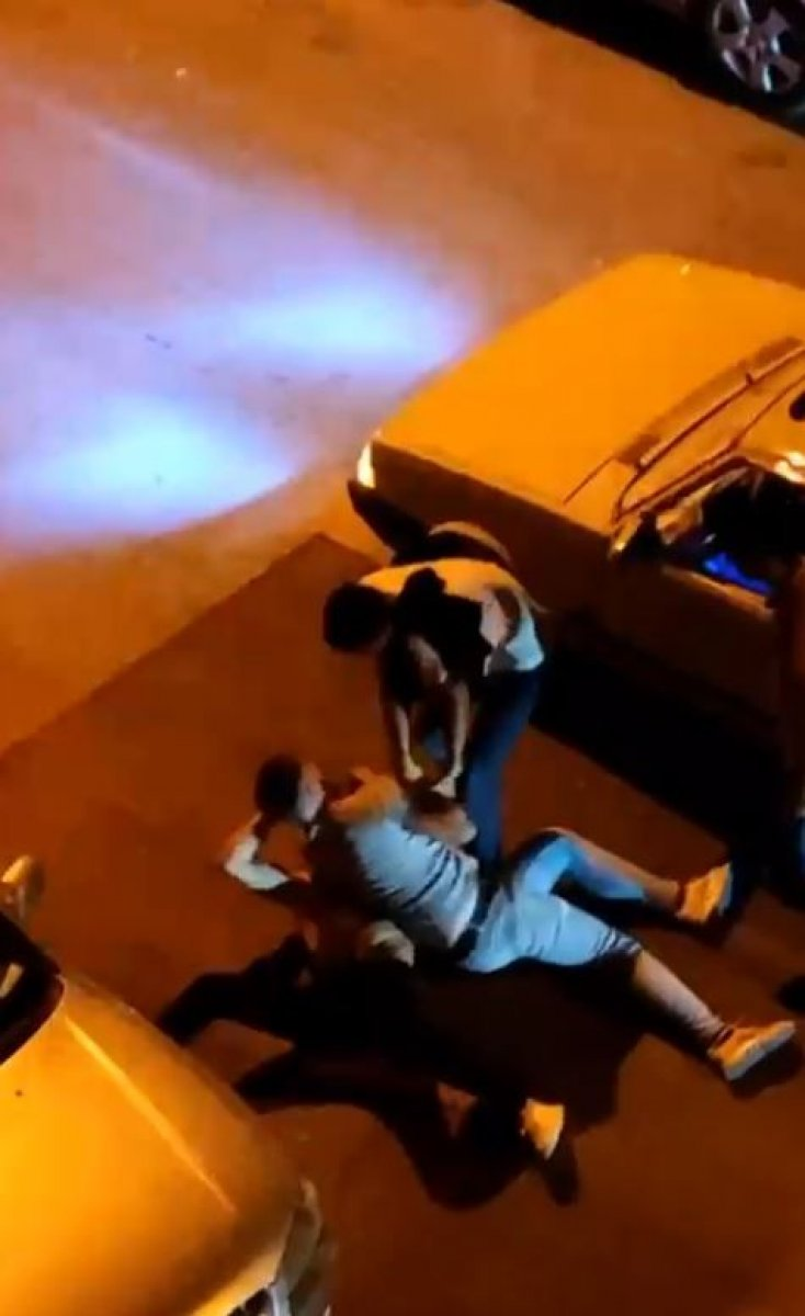 Antalya'da taciz şüphelisine dayak  #7
