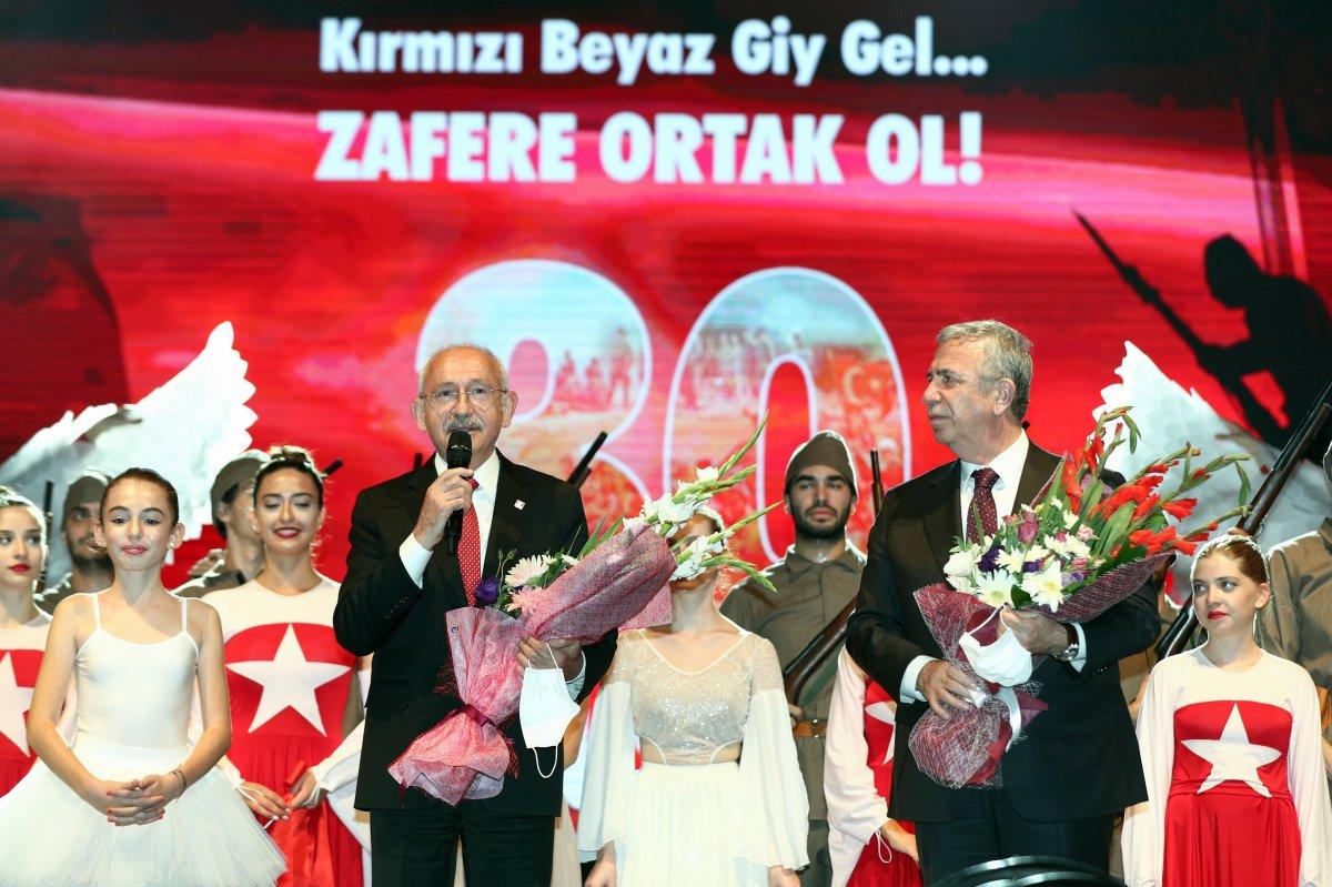 Kemal Kılıçdaroğlu, 30 Ağustos Zafer Bayramı etkinliğine katıldı #1