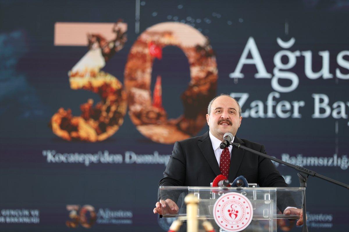Mustafa Varank, Kütahya daki 30 Ağustos kutlama törenine katıldı #4