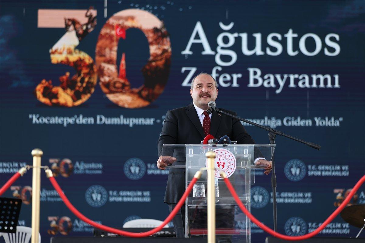 Mustafa Varank, Kütahya daki 30 Ağustos kutlama törenine katıldı #2