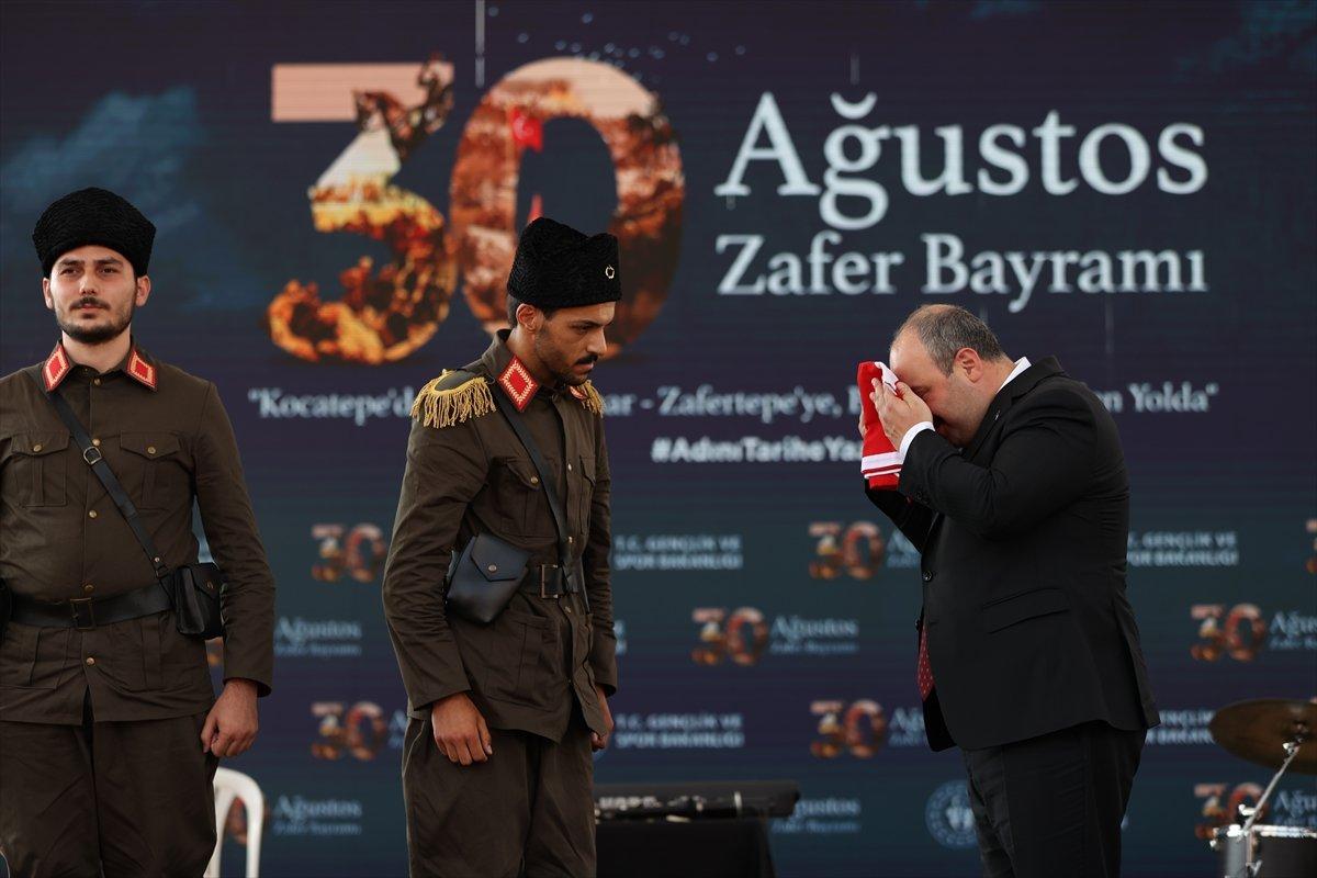 Mustafa Varank, Kütahya daki 30 Ağustos kutlama törenine katıldı #3
