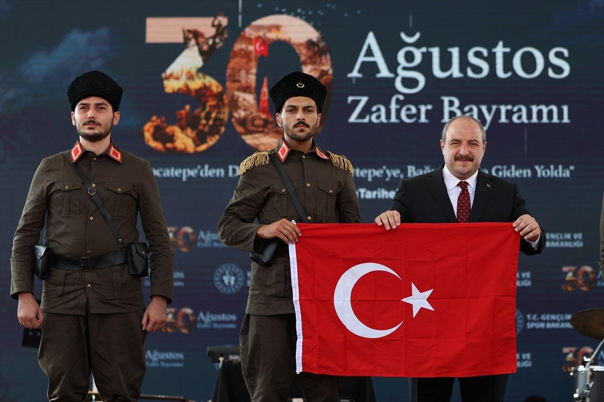 Mustafa Varank, Kütahya daki 30 Ağustos kutlama törenine katıldı #1