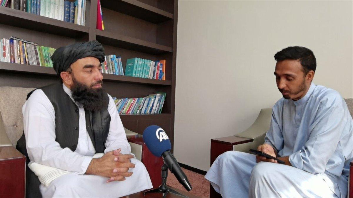 Taliban Sözcüsü Zabinullah Mücahid: ABD, sivillere ateş açtı #3