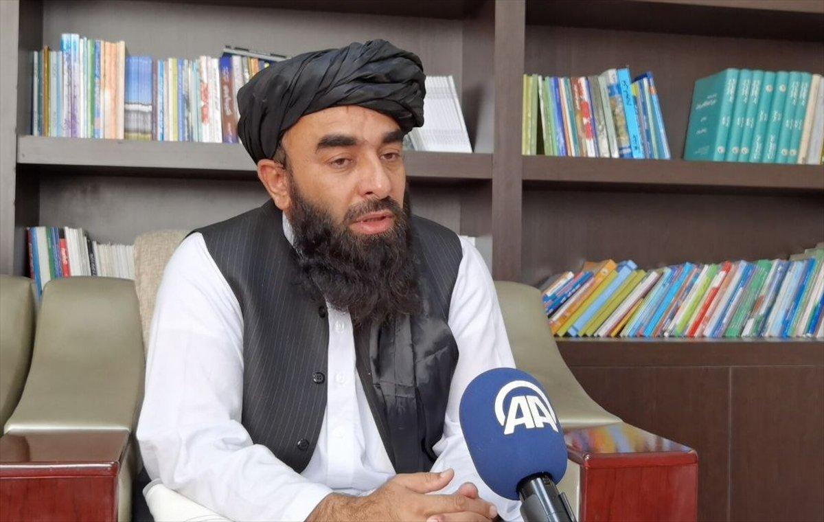 Taliban Sözcüsü Zabinullah Mücahid: ABD, sivillere ateş açtı #4