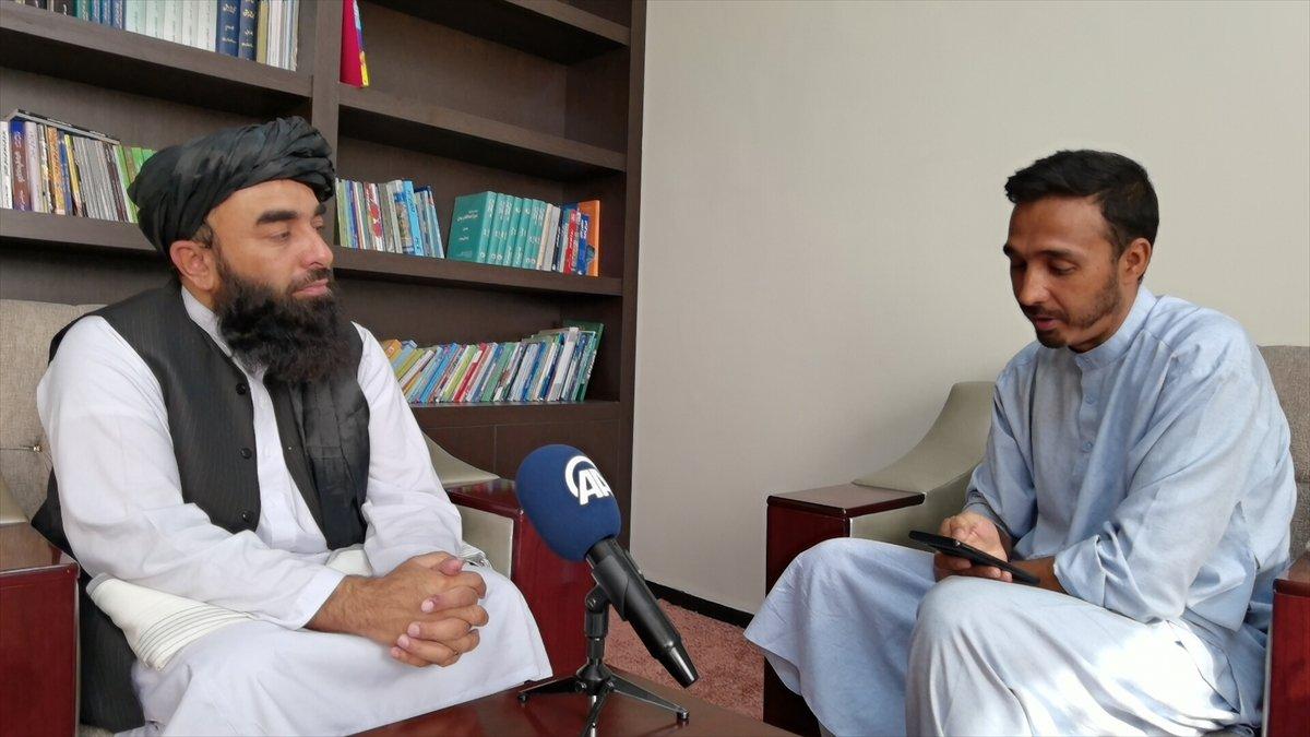 Taliban Sözcüsü Zabinullah Mücahid: ABD, sivillere ateş açtı #5