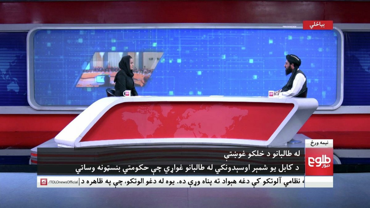 Taliban yetkilisiyle ekrana çıkan kadın gazeteci ülkeyi terk etti  #2