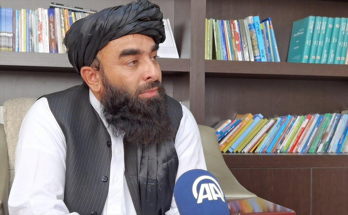 Taliban Sözcüsü Zabinullah Mücahid: ABD, sivillere ateş açtı #1
