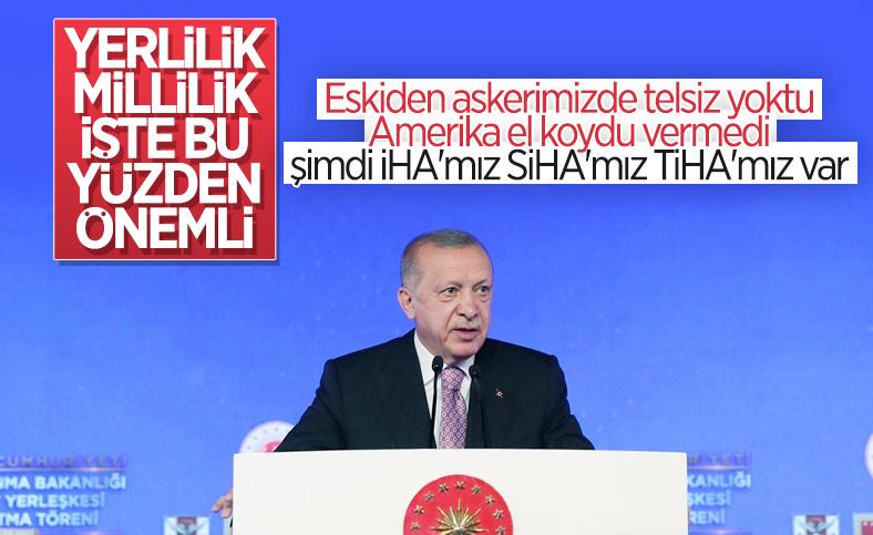 Cumhurbaşkanı Erdoğan: Savunma sanayiinde ihracata başladık