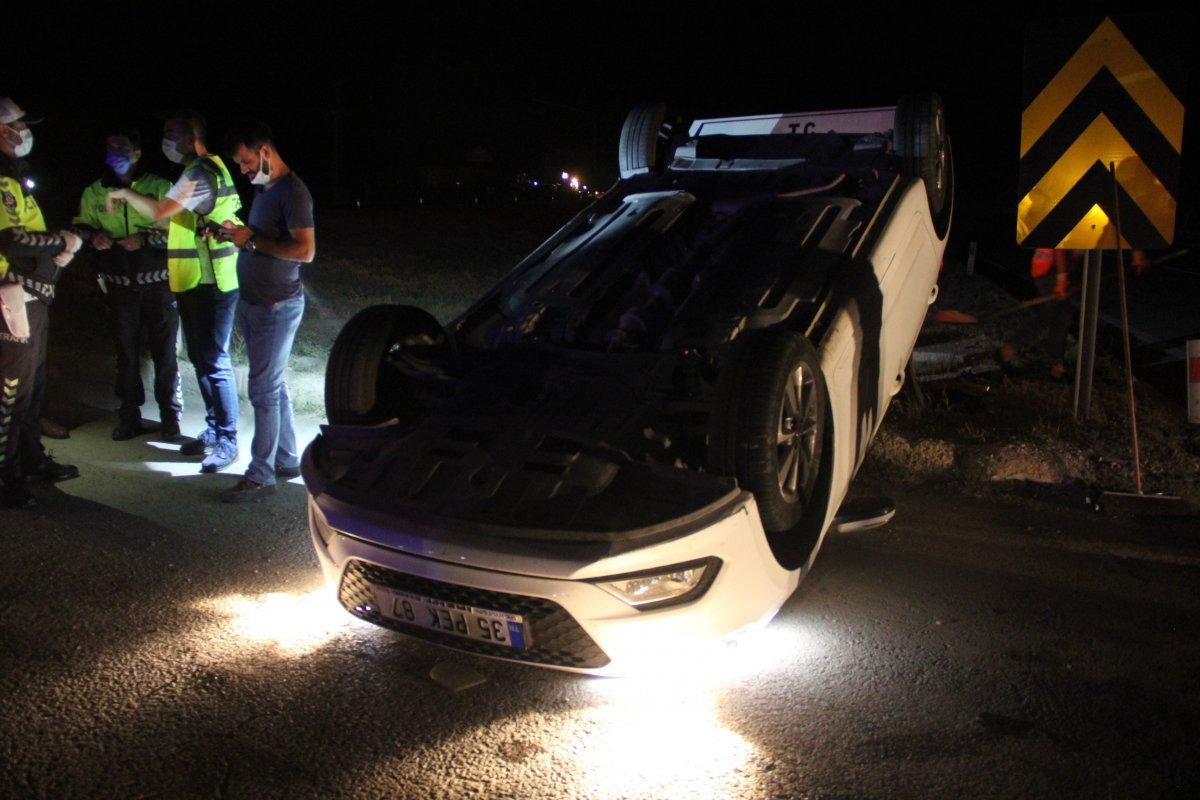Sivas ta kaza: 8 yaralı #1