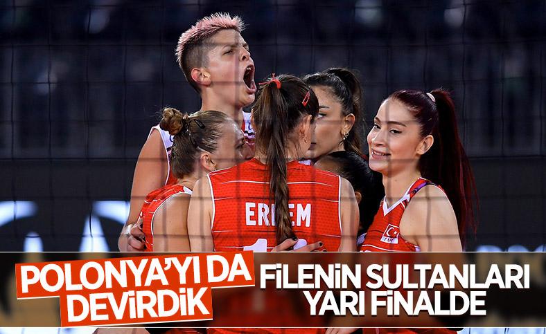 Filenin Sultanları yarı finale yükseldi