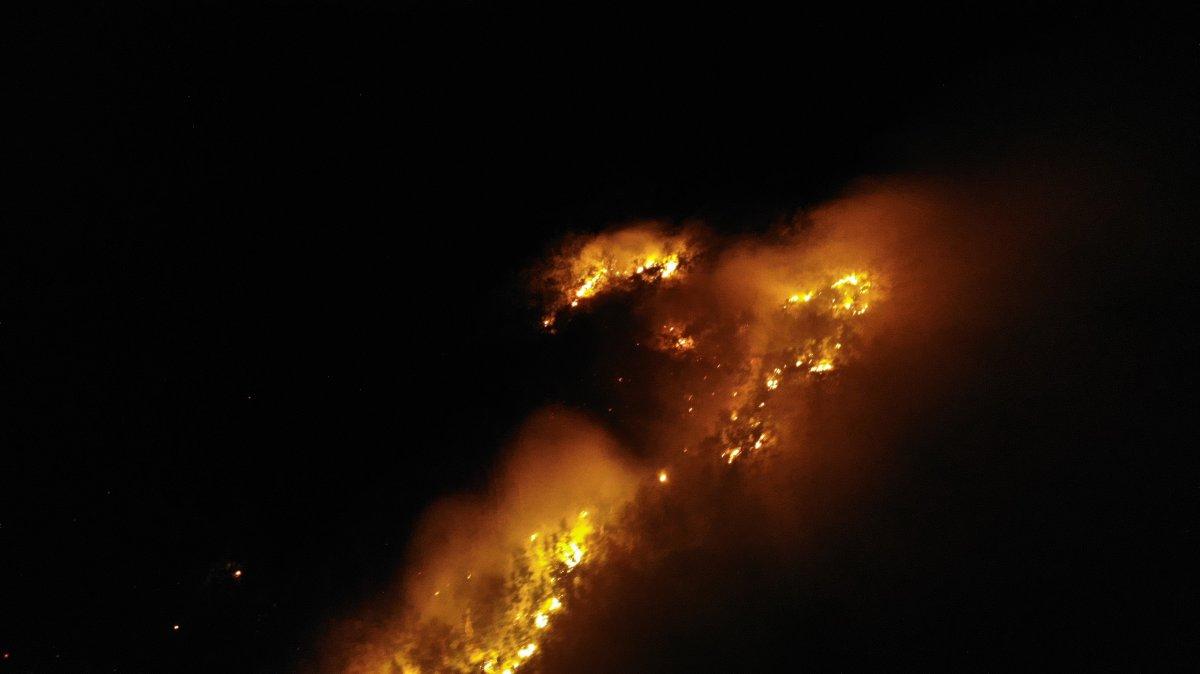 Muş ta yangın çıktı #2