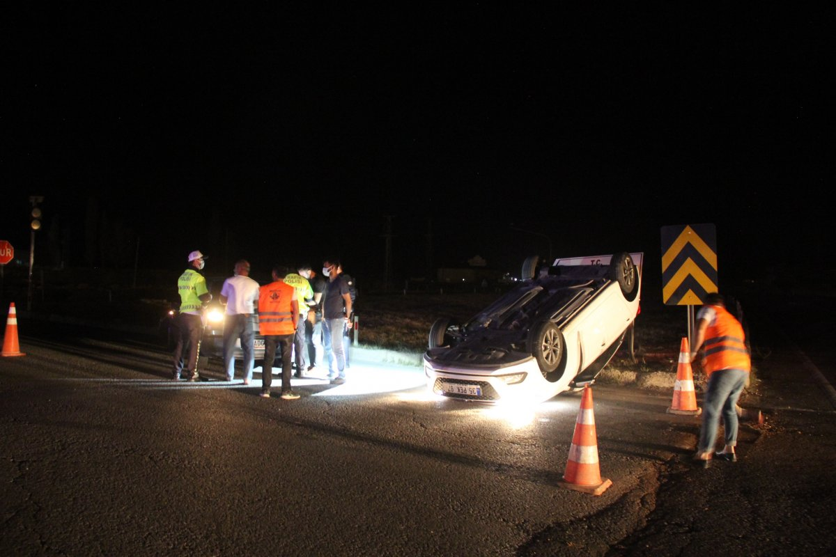 Sivas ta kaza: 8 yaralı #3