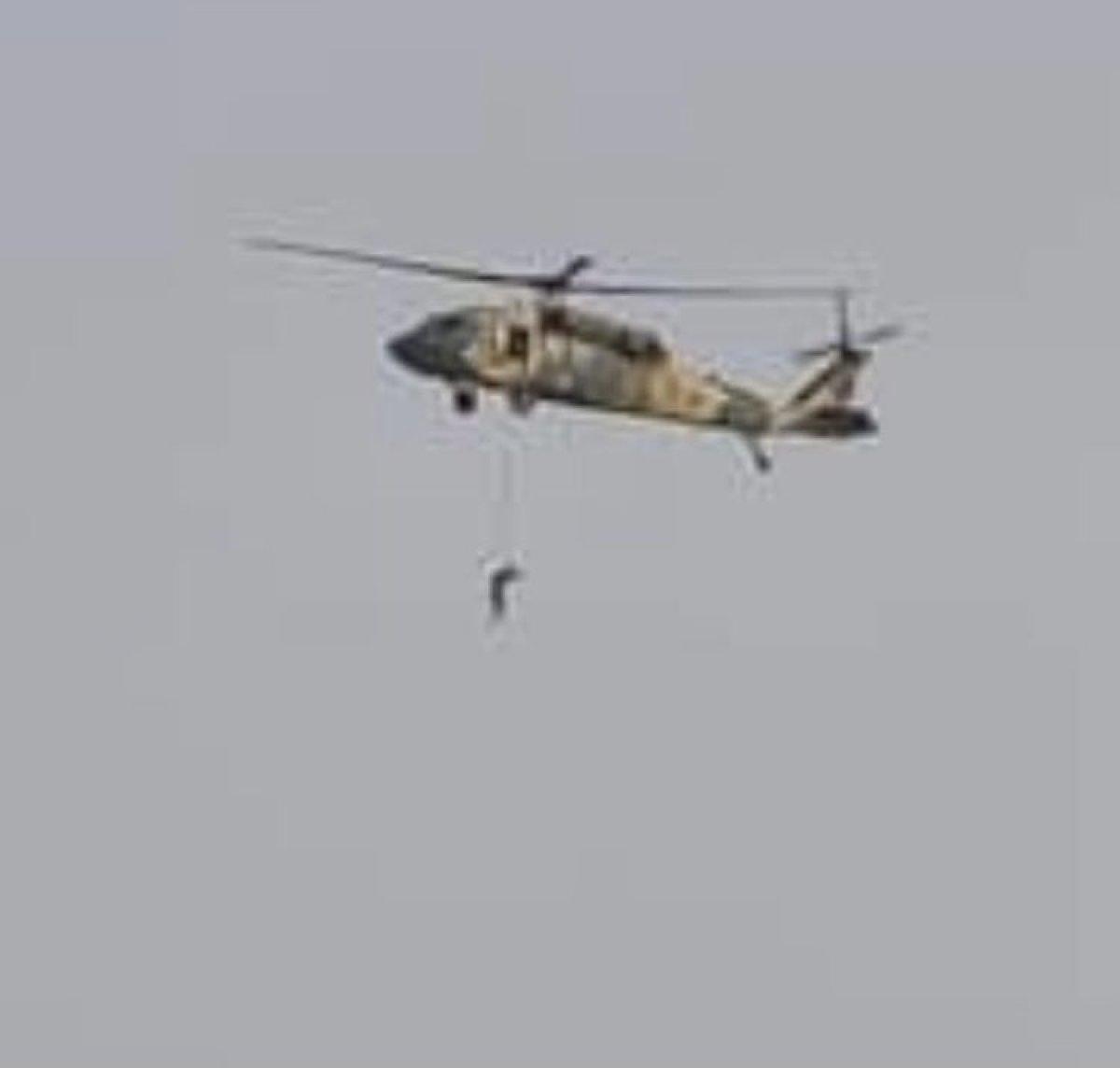 Taliban Amerika ya çalışan Afganları ABD ye ait helikopterlerle asıyor iddiası #1
