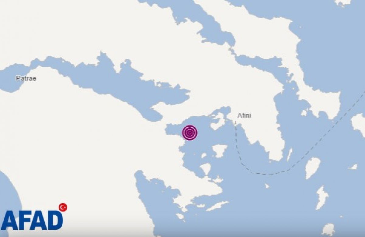 Ege Denizi nde deprem #1