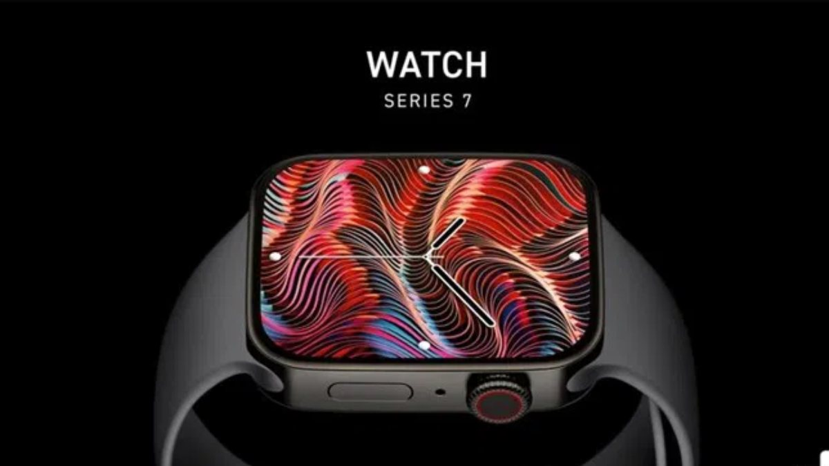 Apple Watch Series 7nin tasarımını gösteren görseller