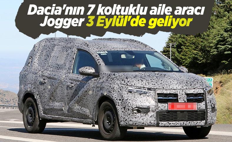 Dacia'dan 7 koltuklu aile aracı: Dacia Jogger