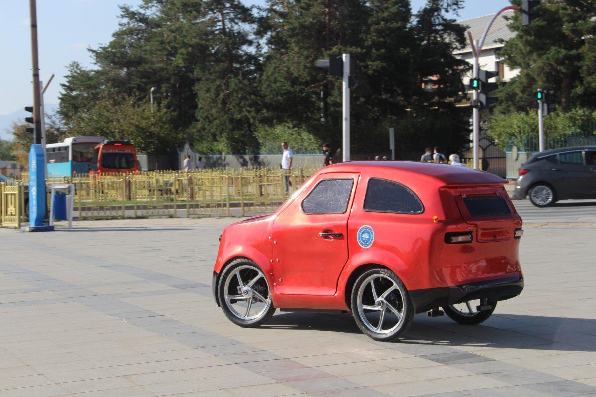 Erzurum da imam hatipli öğrenciler, Tesla ya rakip elektrikli araç üretti #5