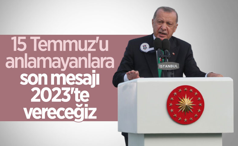 Cumhurbaşkanı Erdoğan, Deniz ve Hava Harp Okulu Diploma Töreni'nde