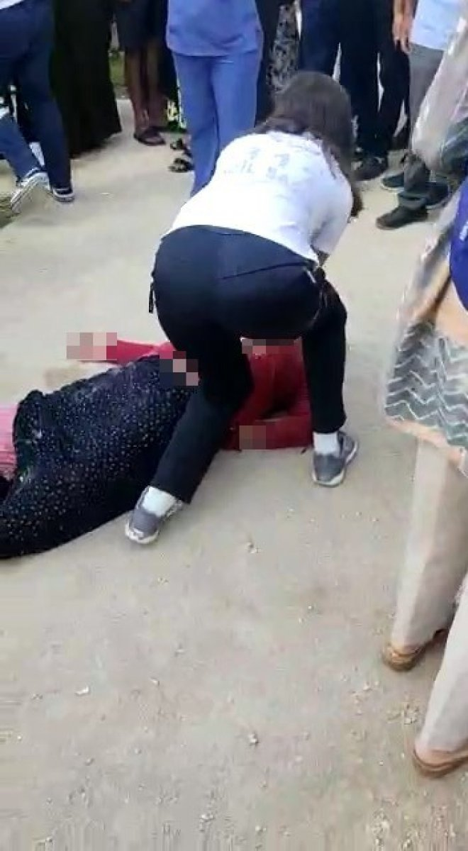 Bursa'da, hastane bahçesinde kalp krizi geçiren kadın öldü  #5
