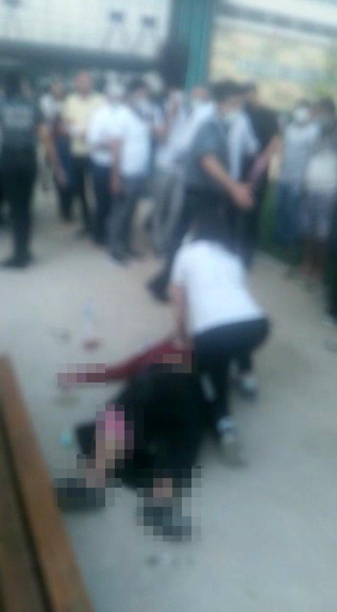 Bursa'da, hastane bahçesinde kalp krizi geçiren kadın öldü  #2