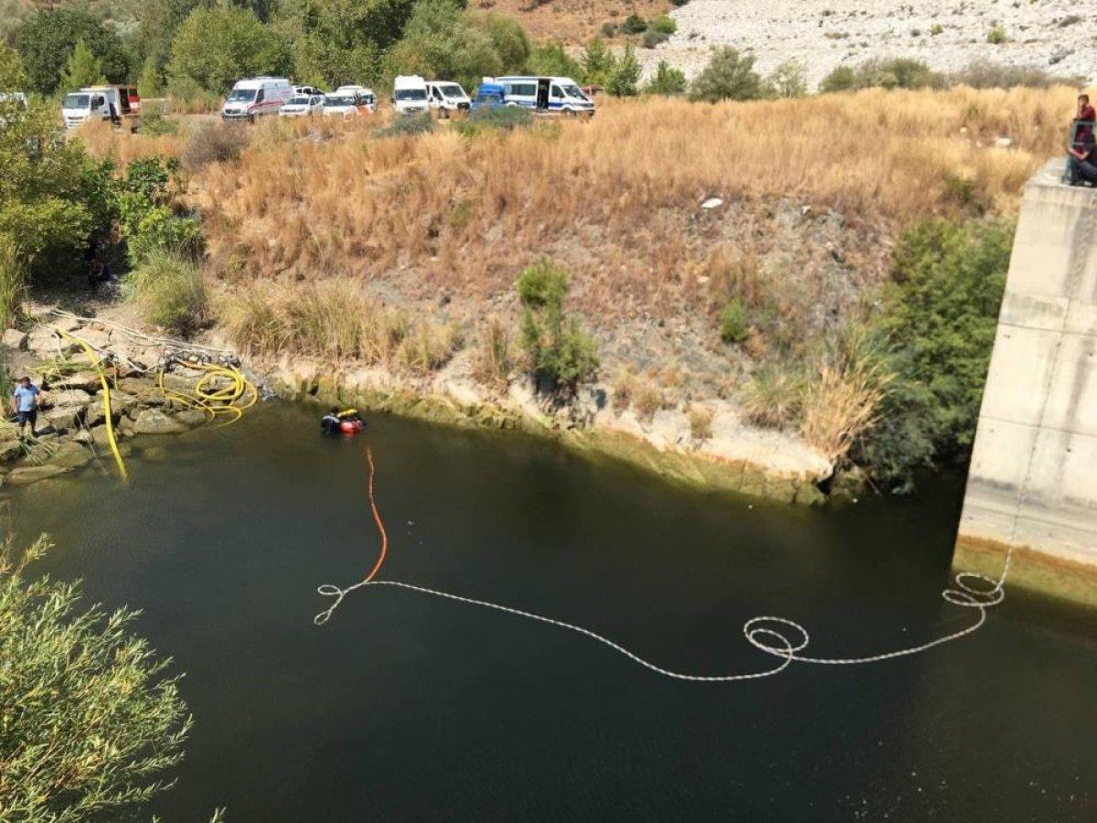 Muğla da kaybolan genç barajda aranıyor #4