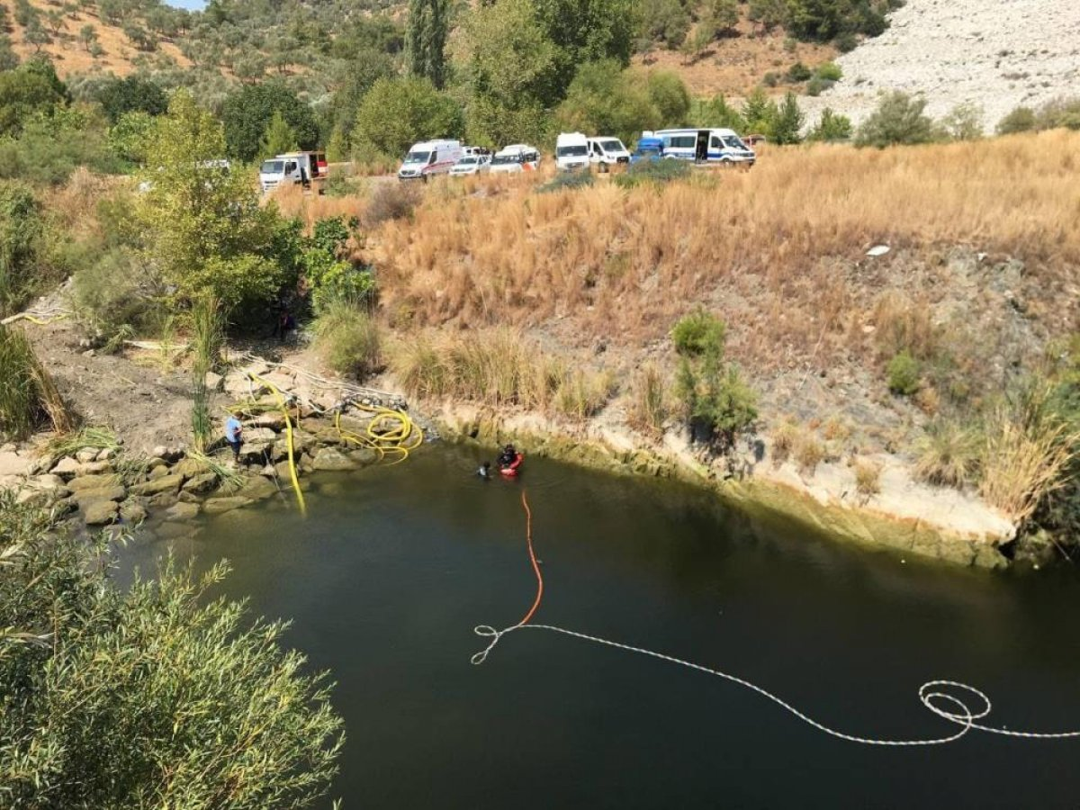 Muğla da kaybolan genç barajda aranıyor #3