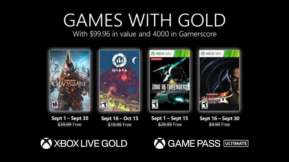 Xbox Live Gold eylül ayı ücretsiz oyunları #1