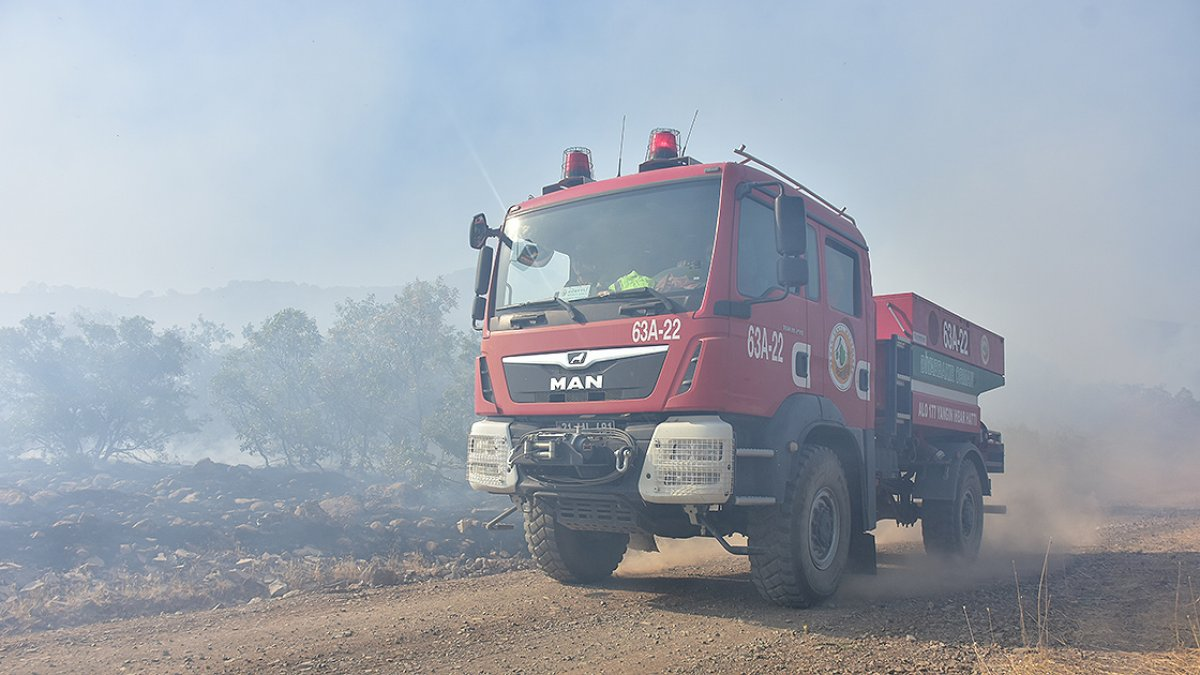 OGM: Orman yangınlarına müdahaleler sürüyor #1