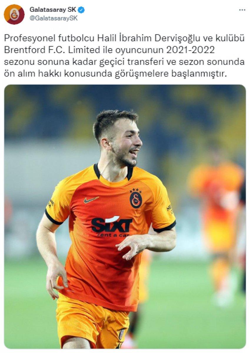 Halil Dervişoğlu Galatasaray da #1
