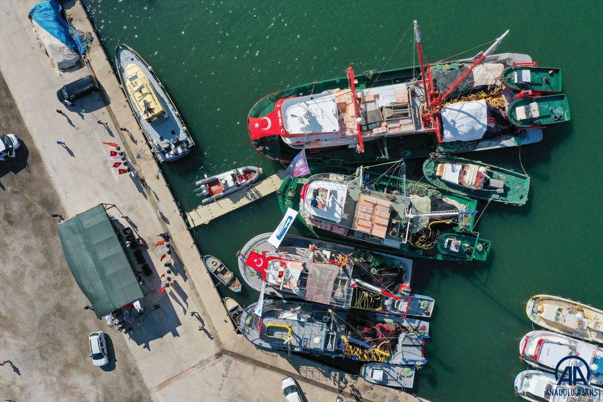 Av yasağı bugün bitti: Balıkçılar denizle kavuştu #13