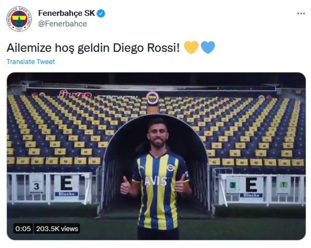 Diego Rossi, Fenerbahçe de #2