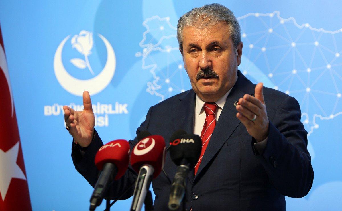 Mustafa Destici: Seçim barajını doğru bulmuyoruz #1