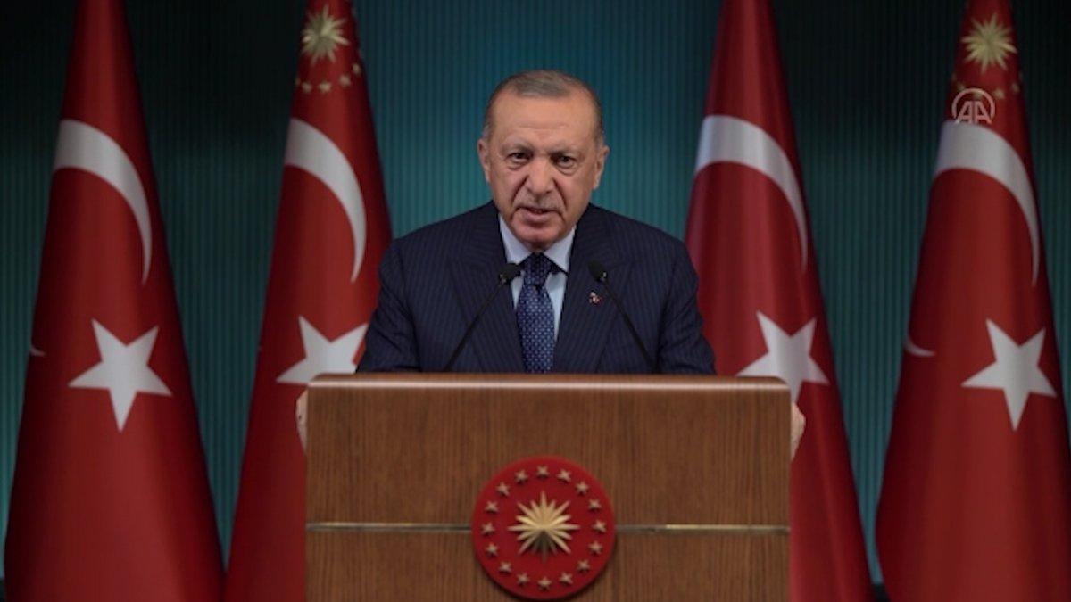 Cumhurbaşkanı Erdoğan, Yeni Pazar Başkonsolosluğu açılışında konuştu #1